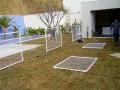 Alambrado e estrutura de armação - Piscina