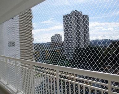 Redes de Proteção para Sacadas, Piscinas, Janelas, Apartamentos, Residências